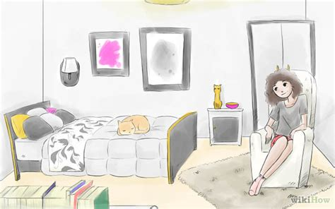 how to draw your bedroom how to decorate your bedroom wikihow