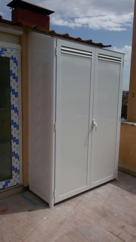 armadi in alluminio per esterni prezzi armadio in alluminio lavorazioni in ferro roma