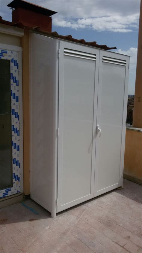 armadio roma armadio alluminio esterno roma