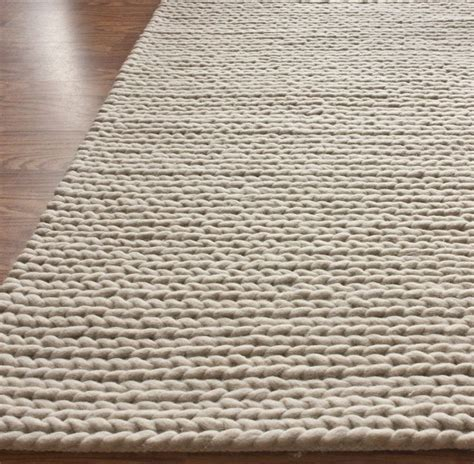 Handmade Rugs Usa - rugs usa textures handmade wool cable white rug