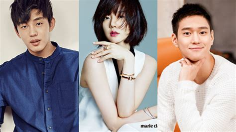 yoo ah in relationship yoo ah in im soo jung and go kyung pyo confirmed for