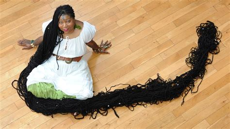 youtube the woman with the longest pubic hair in the world world s longest dreadlocks guinness world record youtube