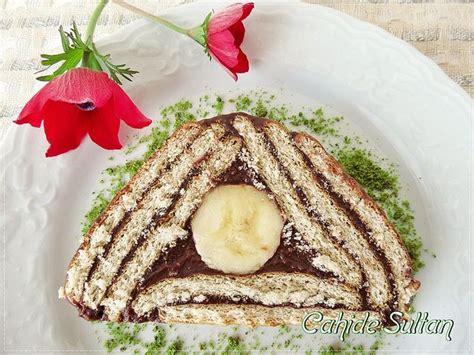 biskuvili piramit pasta yapmak icin pictures to pin on pinterest bisk 252 vili piramit pasta yaş pastalar ve kekler