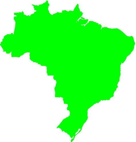 lime silhouette brazil map silhouette free vector silhouettes