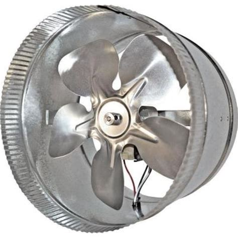 suncourt two speed professional 10 in in line duct fan