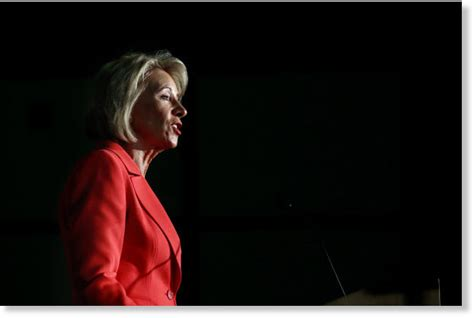 betsy devos in atlanta betsy devos common core is dead at dept of education