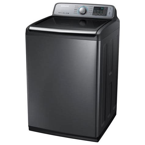 samsung washer wa50m7450ap samsung appliances 5 0 cu ft high efficiency top load washer stainless platinum