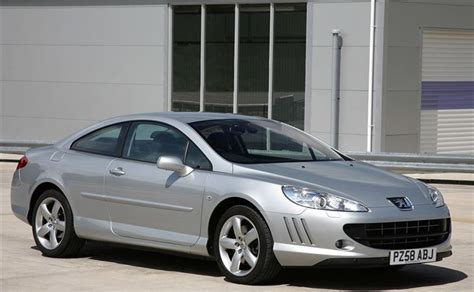 peugeot 407 coupe interior peugeot 407 coupe 2006 car review honest