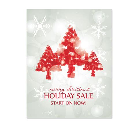 poster template for christmas tree tree sale poster template
