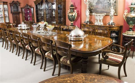 antique dining table      large