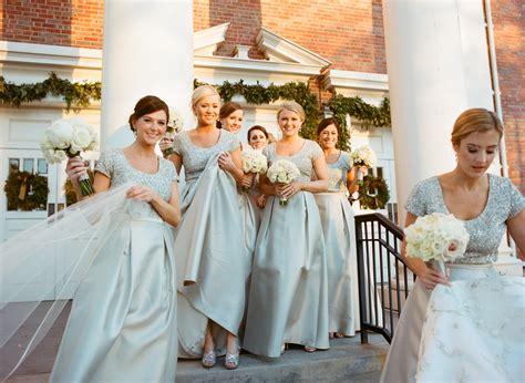 winter weddings 10 new winter wedding ideas real bridesmaid dresses for winter weddings inside weddings