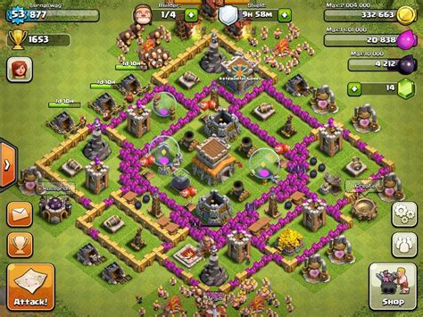 best defense town hall level 8 2016 best town hall level 8 defense strategy www pixshark com
