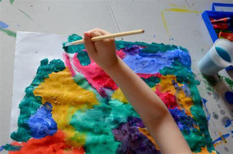 Lavoretti Per Bambini Con Colori A Tempera
