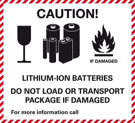Kennzeichen Aufkleber Pdf by Verpackungs Kennzeichen Lithium Ion Batteries Folie