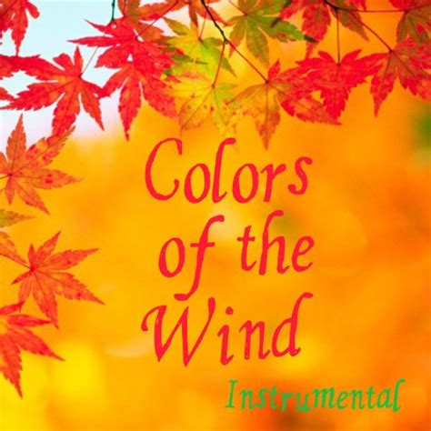 colors of the wind instrumental by instrumental