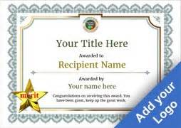 merit badge award card template free certificate templates simple to use add printable