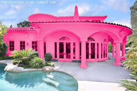 Pink House by Pink Houses Pink Pretty Girly Summer