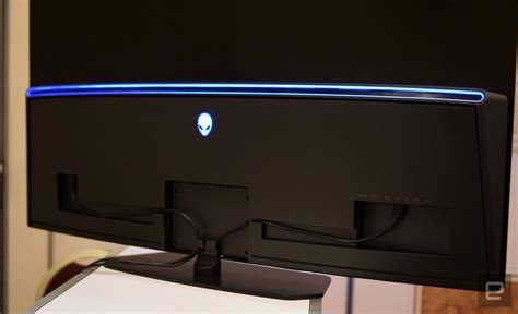 alienware s 55 inch 4k oled gaming monitor is eye techgenez