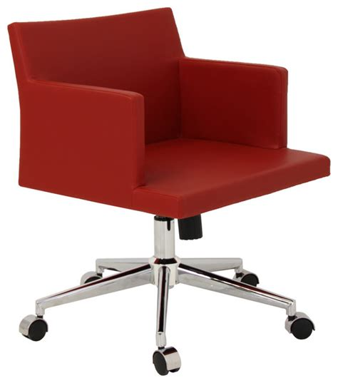 houzz office chairs soho office chair modern office chairs seattle by