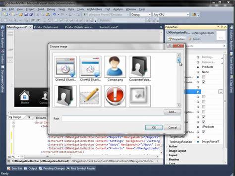 mvvm pattern youtube create line of business navigation application using mvvm