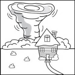 tornado coloring pages clipart image tornado
