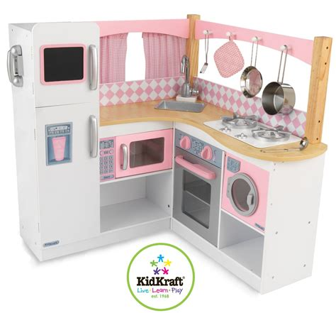 Grand Gourmet Corner Kitchen by Kidkraft Grand Gourmet Corner Kitchen Review Buy