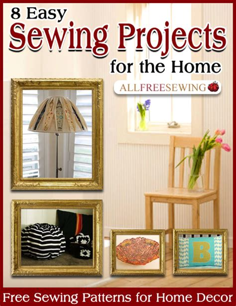 new allfreesewing home decor ebook for free