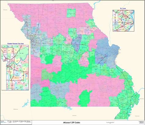 zip code map missouri joplin mo zip code map pictures to pin on pinterest