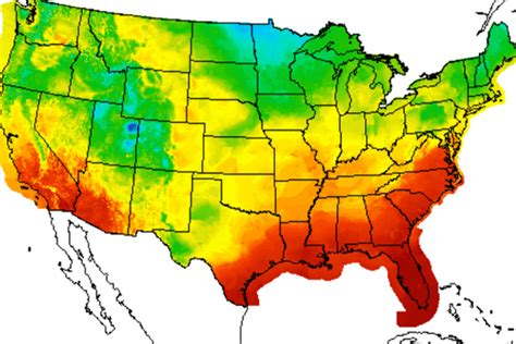 us map average temperature january 2012 was second warmest year on record in indiana news