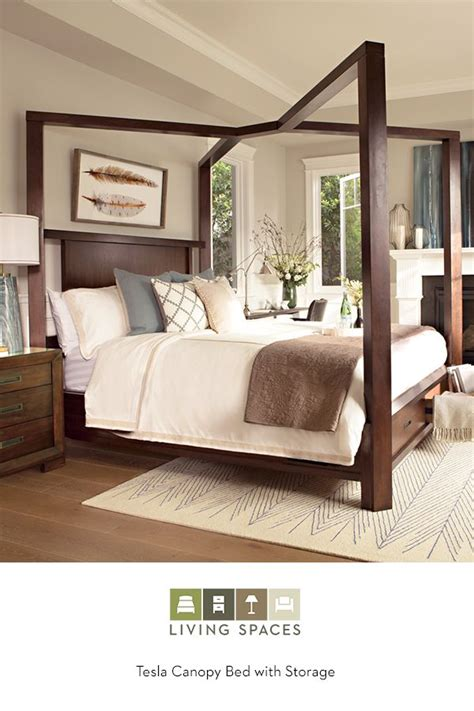 California King Canopy Bed Frame Tesla Canopy W Storage Bed California King Storage Beds And Canopy