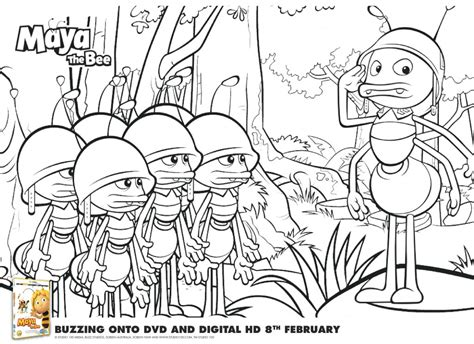 mayan coloring pages pdf maya the bee colouring pages and printable mask in the