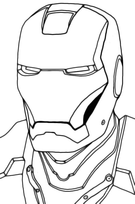 iron man helmet coloring pages iron man mask clip art 62