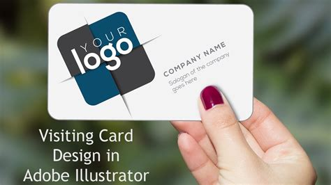 tutorial illustrator business card illustrator tutorial business card design youtube