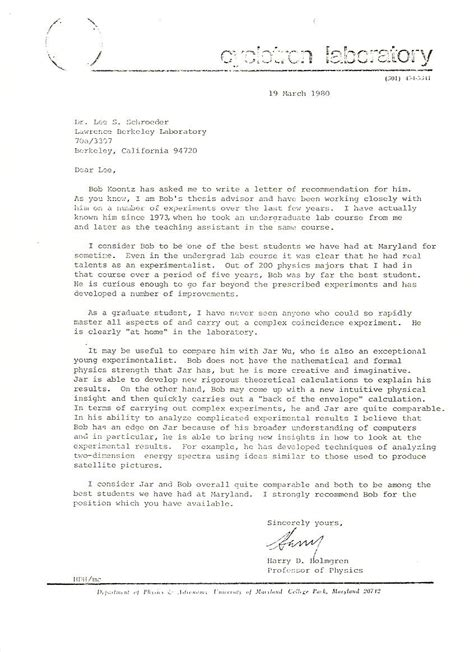 College Confidential Uc Berkeley Letter Of Recommendation News Articles And Other Material Relating To Bob Koontz