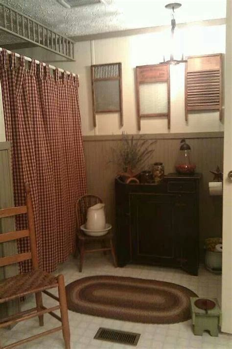 Primitive Bathroom Wall Colors 1000 Ideas About Primitive Country Bathrooms On