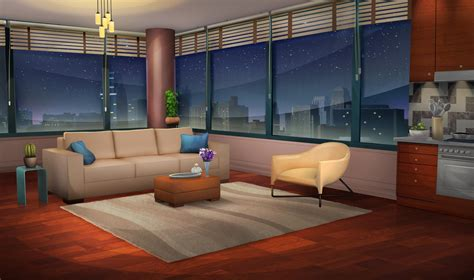 city night line day couch wallpaper 3840x2160 city sofa buildings interiors design 1