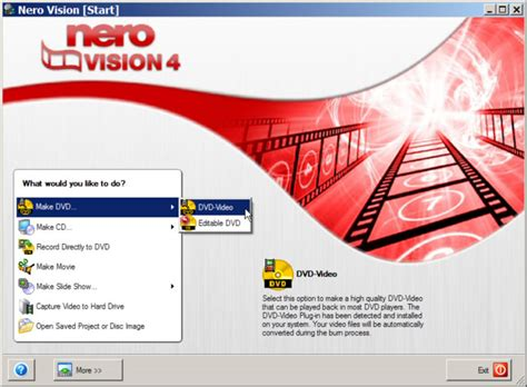 format dvd nero how to convert all video formats to dvd using nero vision 4