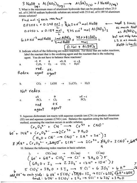pressure conversions chem worksheet 13 1 answers ap chemistry homework