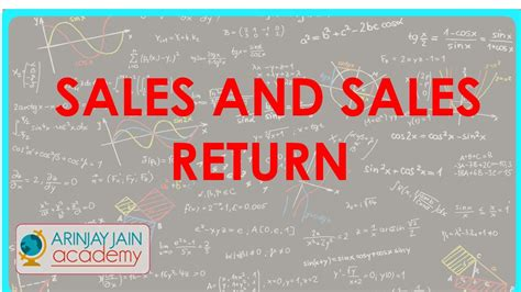 sle of journal 520 accounts xi journal entries sales and sales return