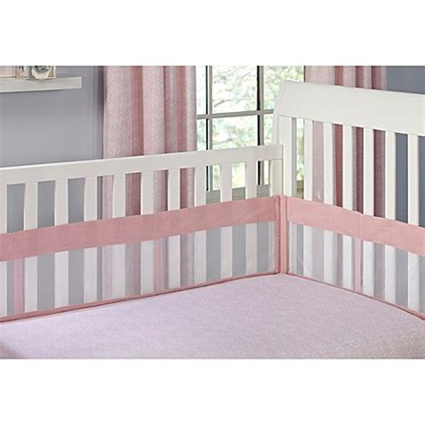 Buy The Willow By Wendy Bellisimo Secure Me Mesh Crib Crib Mattress Liner