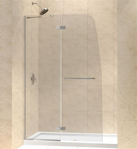 Aqua Glass Shower Doors Aqua Ultra Hinged Shower Door