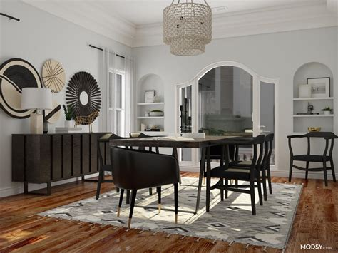 dining room   entertainment eclectic style