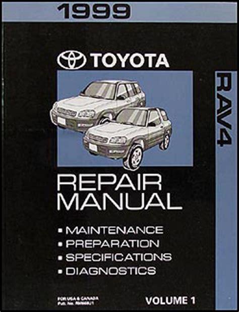 auto repair manual online 1999 toyota rav4 seat position control 1999 toyota rav4 shop manual volume 1 rav 4 original oem