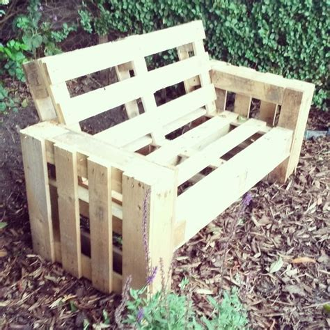 how to build pallet couch diy pallet sofa 4 steps with pictures