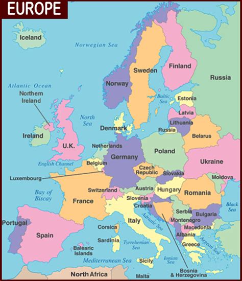 map of europe countries map of europe cities pictures march 2013