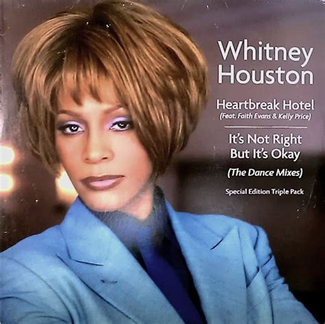 whitney houston house music whitney houston heartbreak hotel it s not right but it s okay the dance mixes