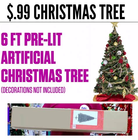 99 cents only stores 6 christmas tree only 0 99