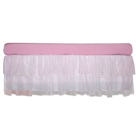 White Tulle Crib Skirt by 1000 Ideas About Tulle Crib Skirts On Crib