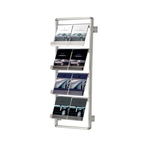 Wall Mounted Leaflet Display Racks by Wall Mounted Literature Rack