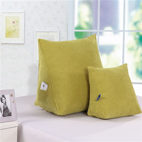 Triangular Pillows by Back Cushion Triangular Pillows 60 50 30 Corn Cloth With